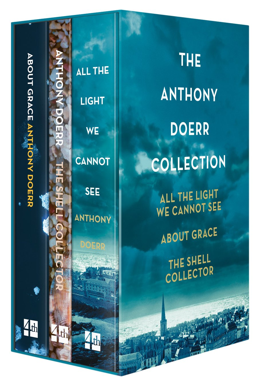 All The Light We Cannot See, About Grace And The Shell Collector: The  Anthony Doerr Collection: Amazon: Anthony Doerr: 9780008241940: Books