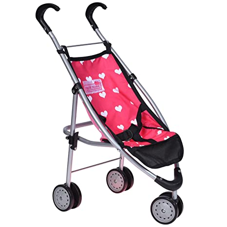 6c2a5141b Image Unavailable. Image not available for. Color: Doll Stroller for Girls  - Baby ...