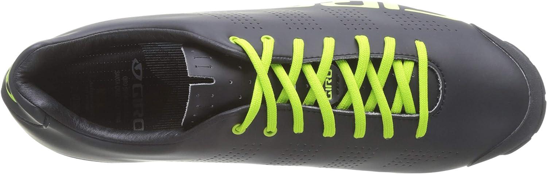Giro Empire VR90 Black Lime Mountain Bike Shoes Size 50 empirevr90-lime-50