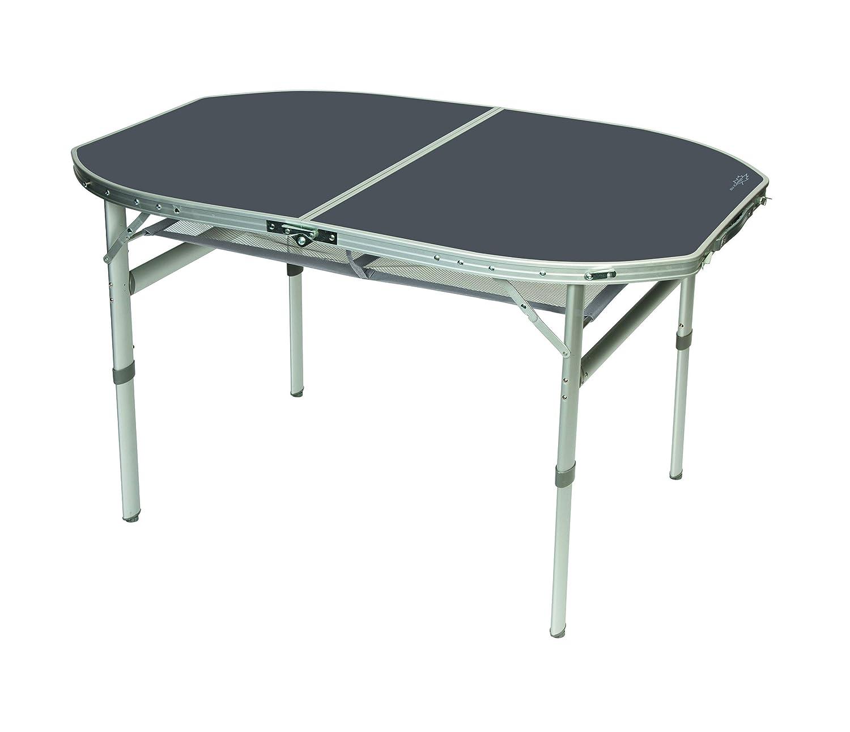 Aluminium Klapptisch 120x80 Campingtisch Falttisch Koffertisch(B-Ware)HitzeBesteändig -Wasserfest