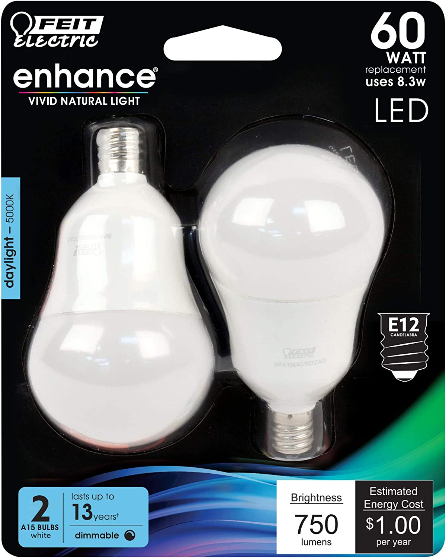 Feit Electric BPA1560C/950CA/2 60W 5K LED