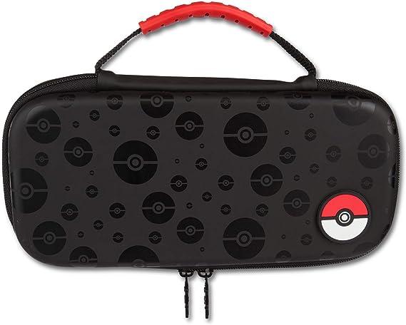 PowerA - Estuche protector para Pokémon Poke Ball Black (Nintendo Switch): Amazon.es: Videojuegos