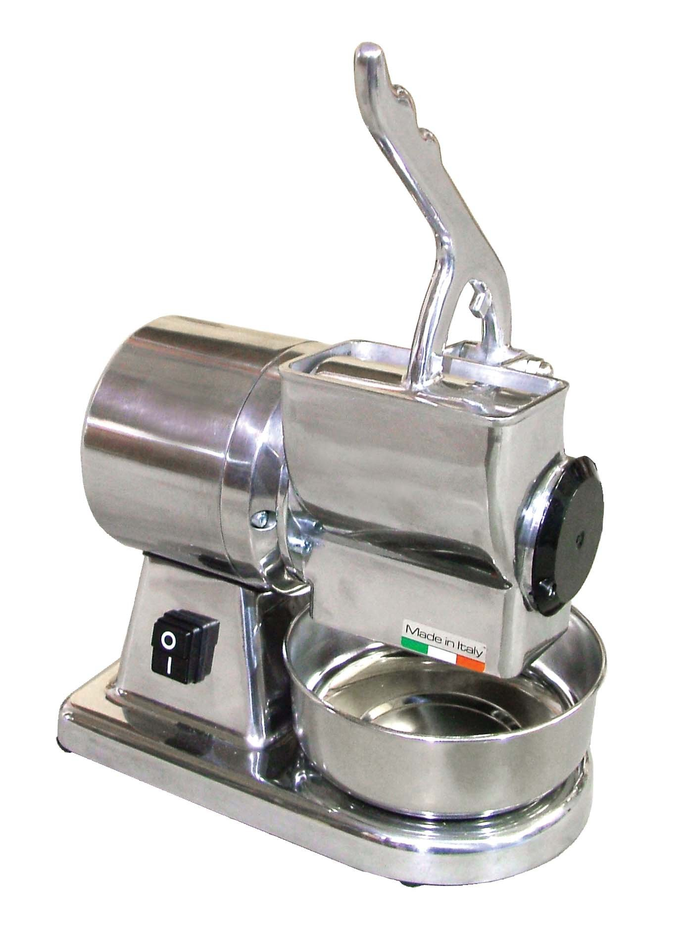 Omcan 11401 Commercial Restaurant Italian Stainless Steel Cheese Grater .5 HP