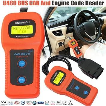 Garage Equipment & Tools U480 Scanner Car Fault Code Reader CAN BUS