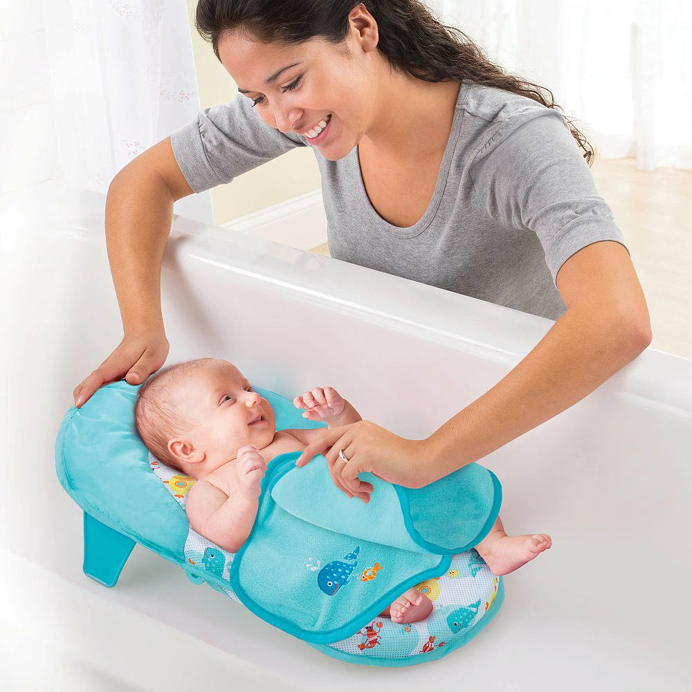 Amazon.com : Babies R Us Folding Sling with Warming Wings - Sea : Baby