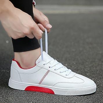 Zapatos para hombre / Alpargatas Los zapatos blancos de verano de los hombres de estilo coreano