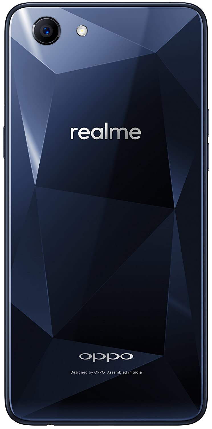 Realme 1 (Diamond Black, 3GB RAM, 32GB Storage)
