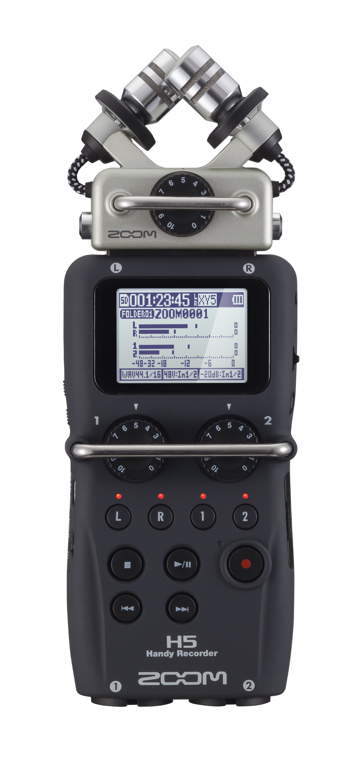 Zoom H5 Four-Track Portable Recorder by Zoom