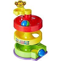 Brinquedo Educativo Rola Bola 03 Pcs - 01 Unidade Dismat Multicor