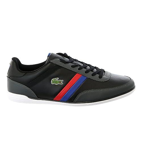 b1ebee938a Lacoste Giron TCL Leather Fashion Sneaker Shoe - Black Black - Mens - 11.5