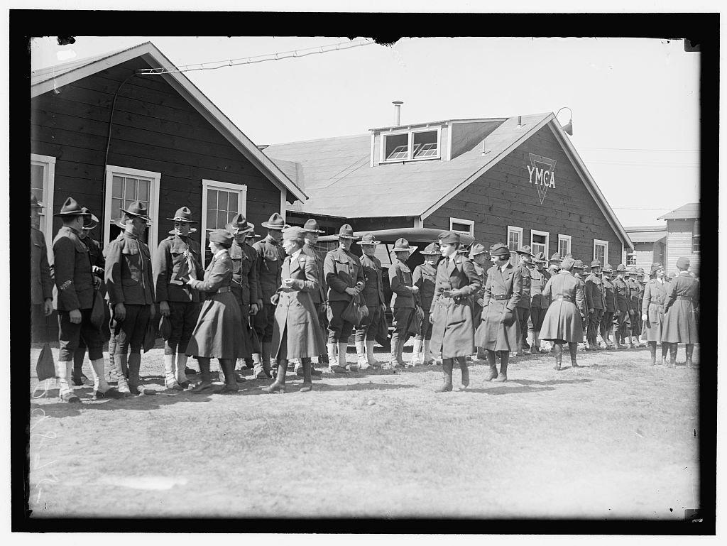 Vintography Reproduced 16 x 20 Photo Young Men's Christian Association 1916-19 Harris & Ewing a86