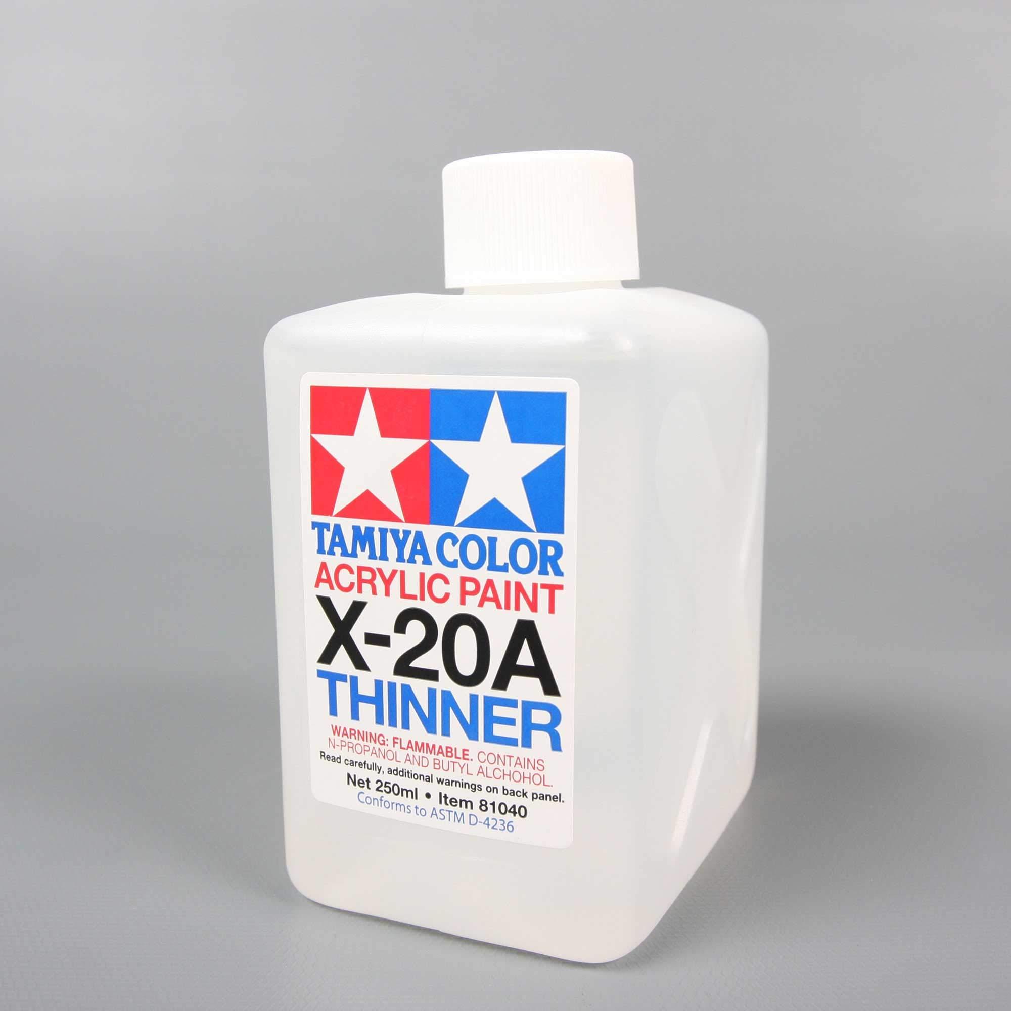 TAMIYA America, Inc Super Large Bottle Acrylic Paint, X-20A Thinner, TAM81040
