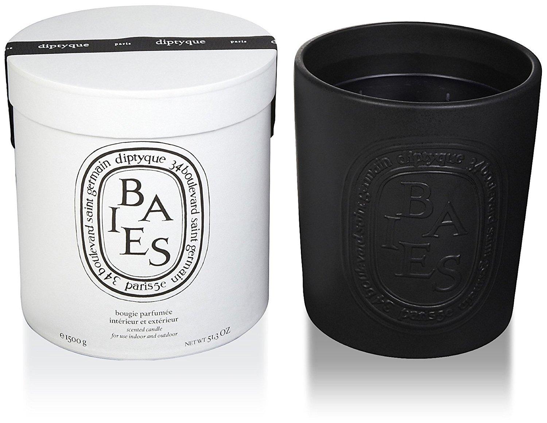 Diptyque Baies Indoor/Outdoor Ceramic Candle-51.3 oz.