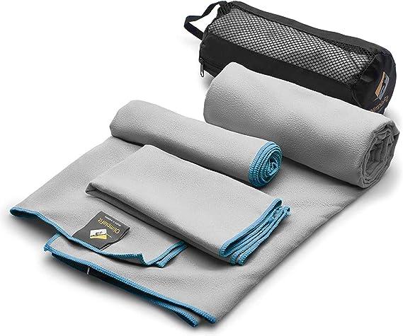 Microfiber Towels (3 size pack)