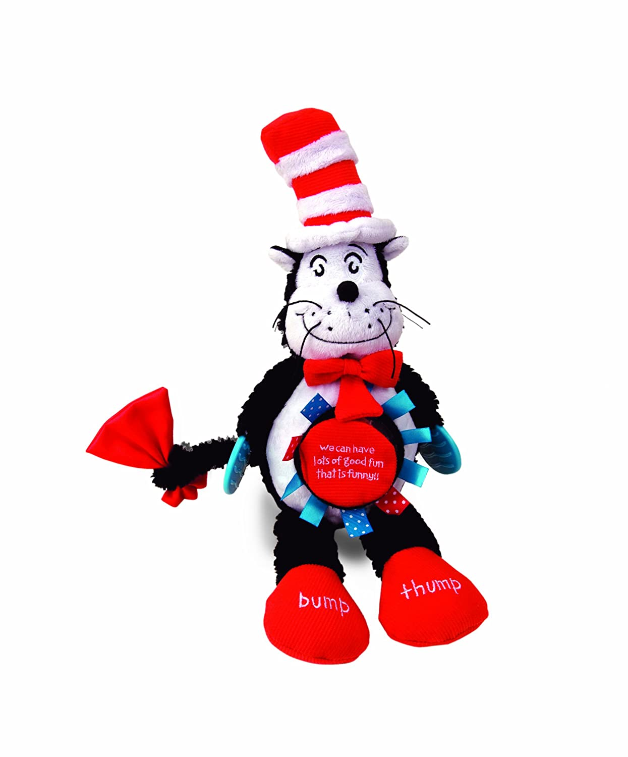 amazon com manhattan toy the cat in the hat activity cat baby toy