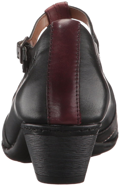 Cobb Hill Rockport Women's Angelina Dress Pump B01MRD7H1I 6.5 B(M) US|Black/Multi