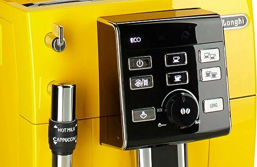 DeLonghi – Cafetera automática » ECAM 25.128.y Amarillo: Amazon.es ...
