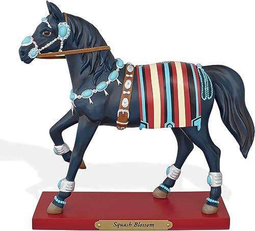 Trail Painted Ponies Squash Blossom Navajo Horse Figurine 4046326