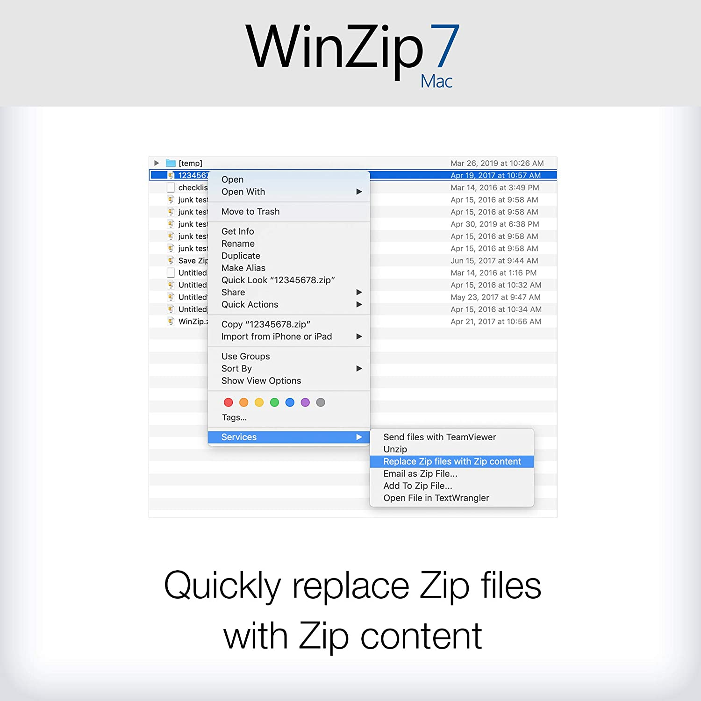 Amazon com: WinZip 7 - File Compression & Decompression [Mac