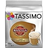 Cápsulas Tassimo Marcilla Café con Leche 16 bebidas NOVEDAD