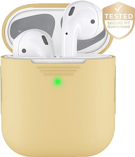 Amazon.com: PodSkinz AirPods 2 & 1 Funda [LED frontal ...