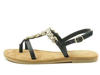 Tamaris 1-28110-28 Damen Zehentrenner Sandaletten Sandalen,  Schuhgröße:37;Farbe