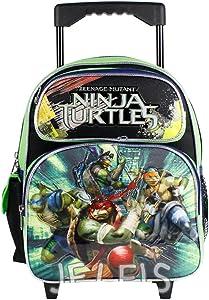 """Nickelodeon Teenage Mutant Ninja Turtles 12"""" Toddler Rolling Backpack"""