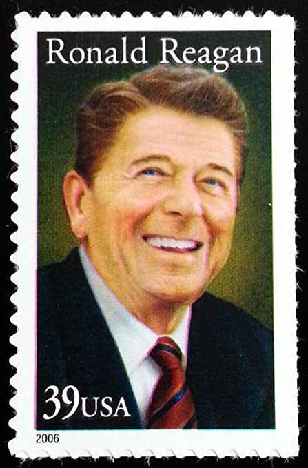 2006 39 Cent Ronald Reagan Stamp Scott 4078 By USPS