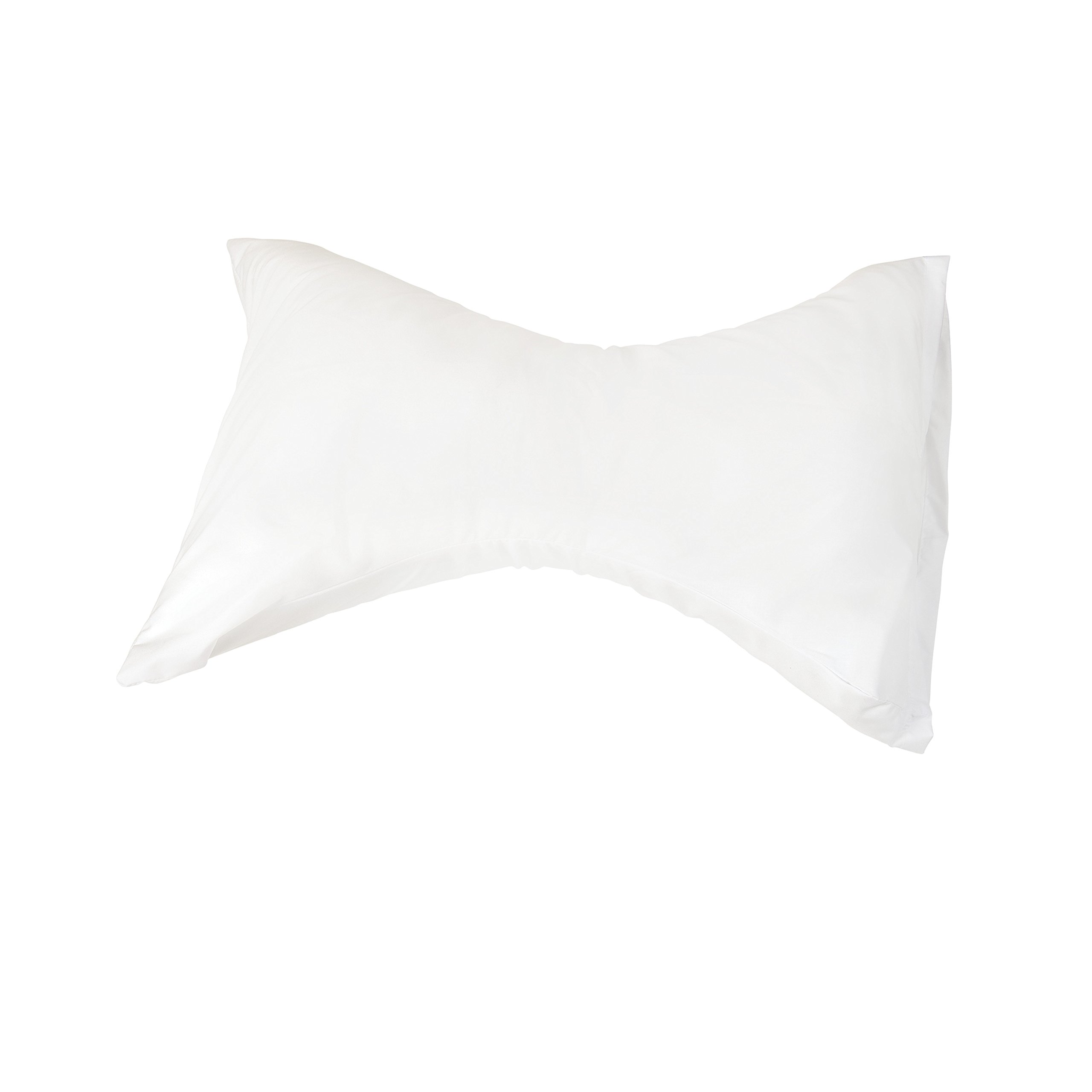 Pillow for Neck Support - Hypoallergenic Neck Pillow for King and Queen Beds - Orthopedic Neck Pillow - Neck Support Pillow, White Cover, Made in USA