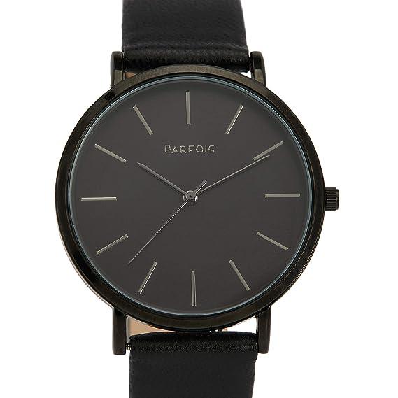 Parfois - Reloj Silver - Mujeres - Tallas Única - Negro: Amazon.es: Relojes