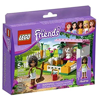 LEGO Friends 3938 Andrea's Bunny House: Toys & Games