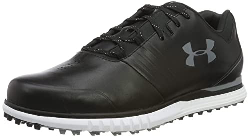 Under Armour Herren Showdown Sl E Golfschuhe, Weiß (White Black 100), 43 EU