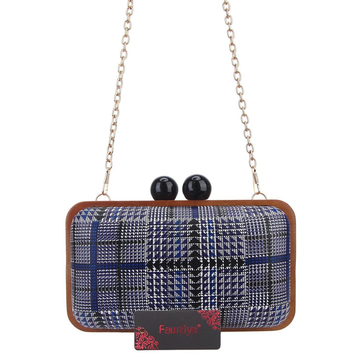 Amazon.com: fawziya bolsos de embrague para mujer marco de ...