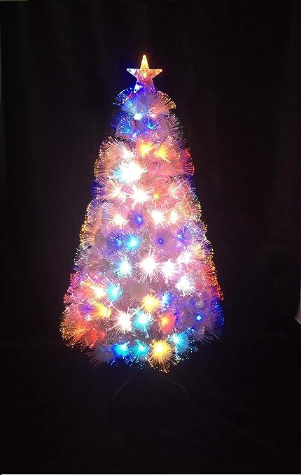 UK SALES STORE 3FT 6FT 8FT WHITE FIBRE OPTIC CHRISTMAS TREE COLOUR CHANGING  LED LIGHTS Festive Trees XMAS TREES FIBRE OPTIC TREES (8FT240CM):  Amazon.co.uk: ... - UK SALES STORE 3FT 6FT 8FT WHITE FIBRE OPTIC CHRISTMAS TREE COLOUR