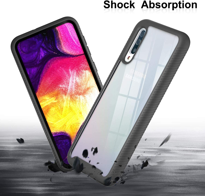 Azihone Espejo Compatible Samsung Galaxy A50//A30S//A50S Funda,Transl/úcido Espejo Standing Cover,Slim Fit Funda Anti-Shock Anti-Rasgu/ño Mirror Funda para Smartphone Carcasa-Plata