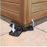 Shedmate Adjustable Leveling Feet for Sheds, Decking or Summerhouses