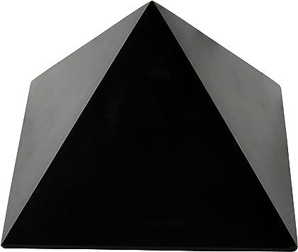 Schungit Pyramide Original poliert in verschiedene Größen Shungit Russland NEU!