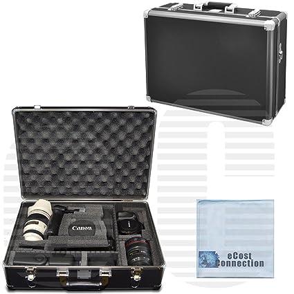 Amazon com : Medium Hard Camera Equipment Case For Canon EOS