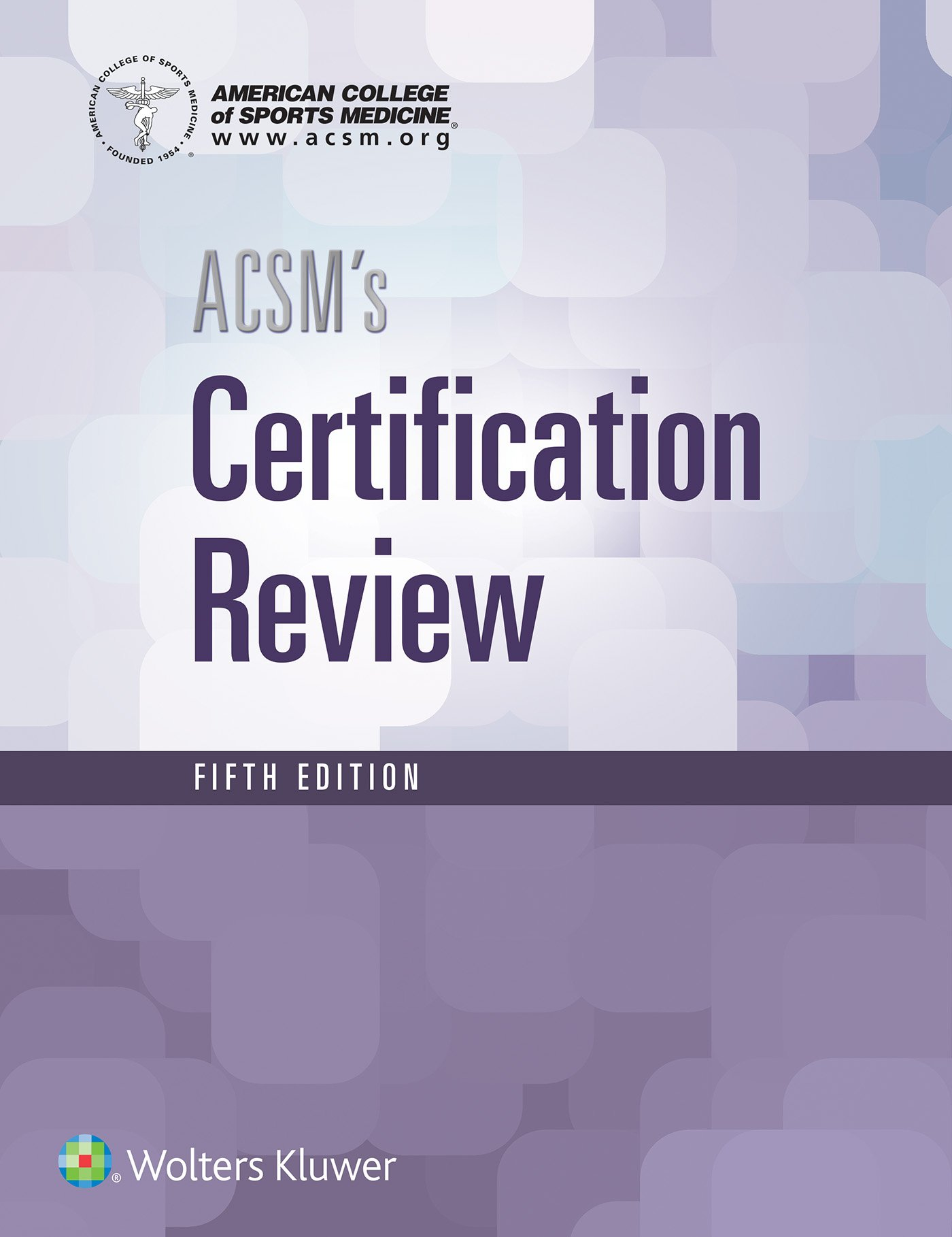 ACSM's Certification Review: American College of: 9781496338778: Sports  Medicine: Amazon Canada