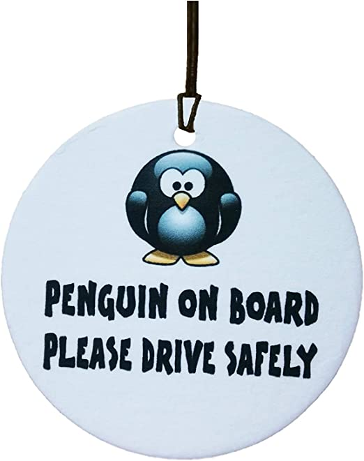 Ali Air Freshener Penguin On Board Auto Lufterfrischer Auto