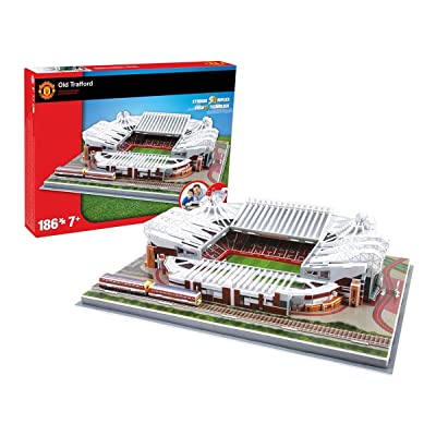 Nanostad Manchester United Old Trafford Stadium 3D Puzzle: Varios: Toys & Games