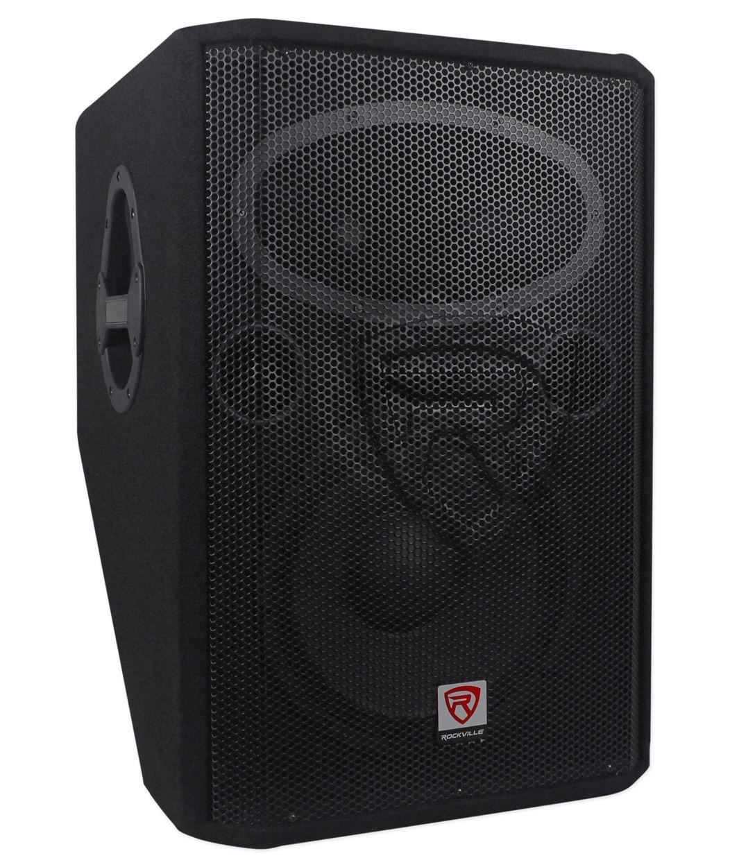 New Rockville RSM12P 12'' 1000 Watt 2-Way Passive Stage Floor Monitor Speaker by Rockville