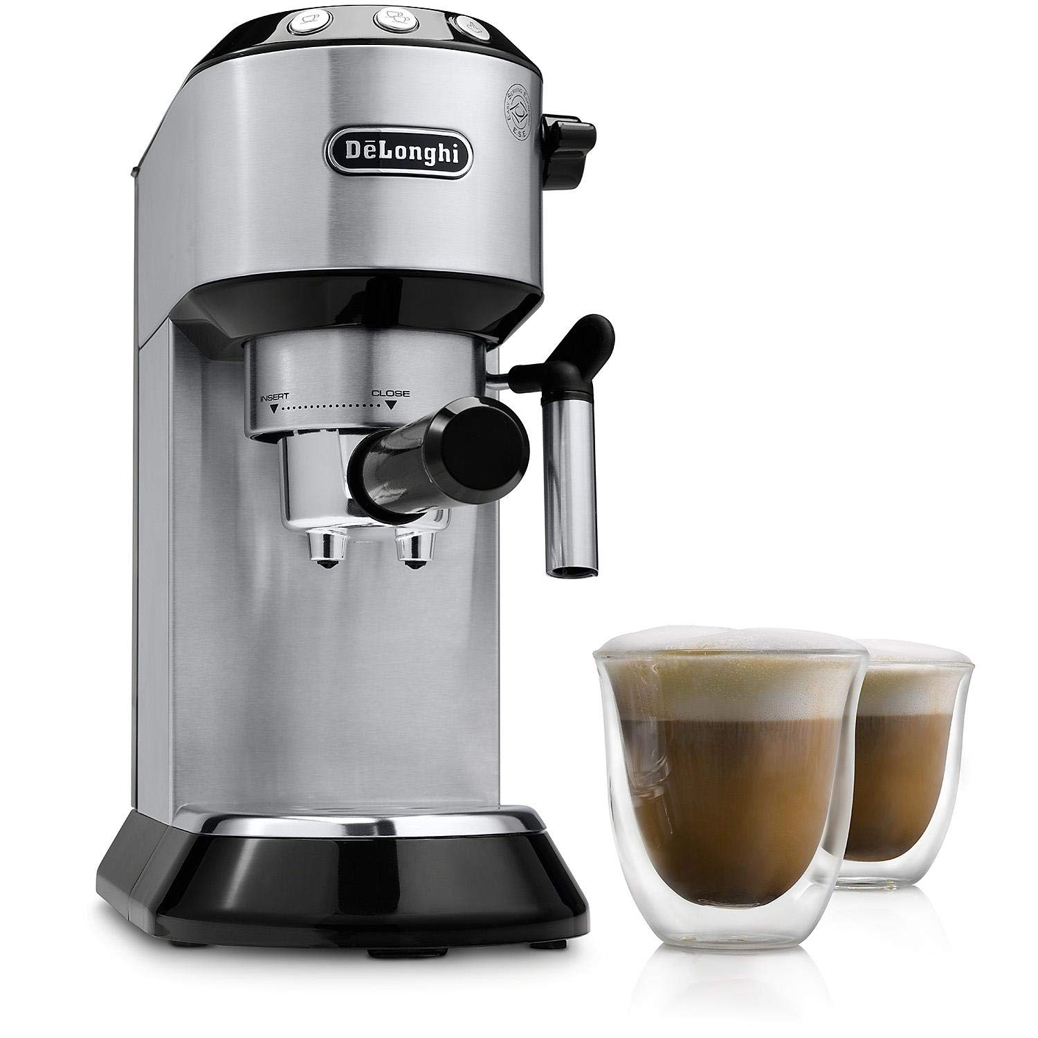 Delonghi Dedica 15 Bar Espresso and Cappuccino Machine Model EC680BMC 1300W