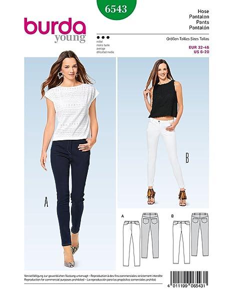 Schnittmuster Palazzohose | burda style Hosen Schnitte für Damen