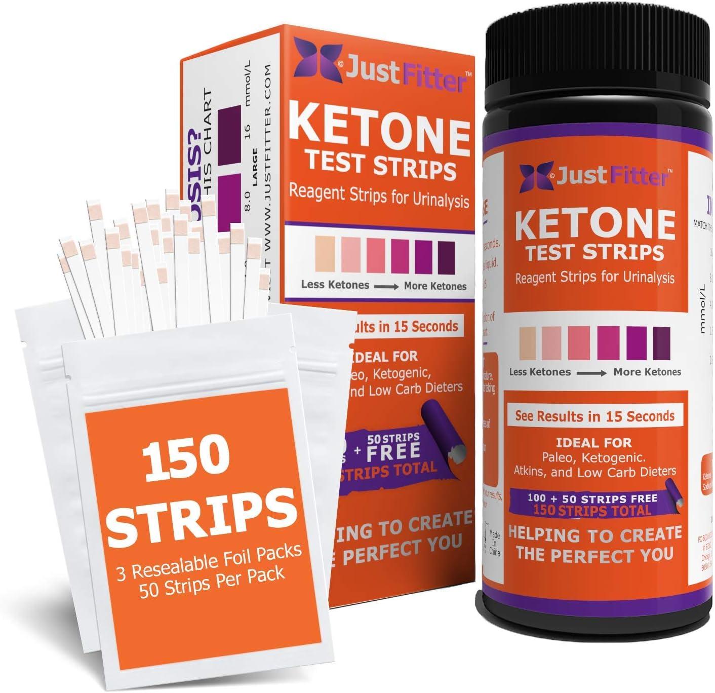 keto diet and ketone strips