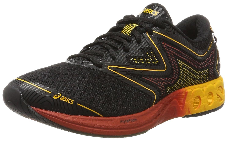 Asics Noosa FF, Zapatillas de Gimnasia para Hombre 43.5 EU|Negro (Black / Gold Fusion / Red Clay)