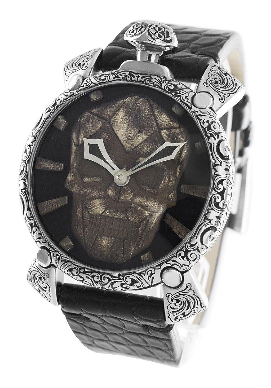 ガガミラノ マヌアーレ48MM スカルプチャー 世界300本限定 腕時計 メンズ GaGa MILANO 5060.CE[並行輸入品] B07594XYQ1
