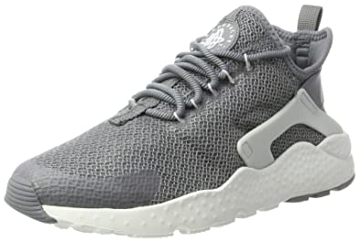 Nike Air Huarache Run Ultra, Sneakers Basses Femme, Gris (Cool Grey/Pure