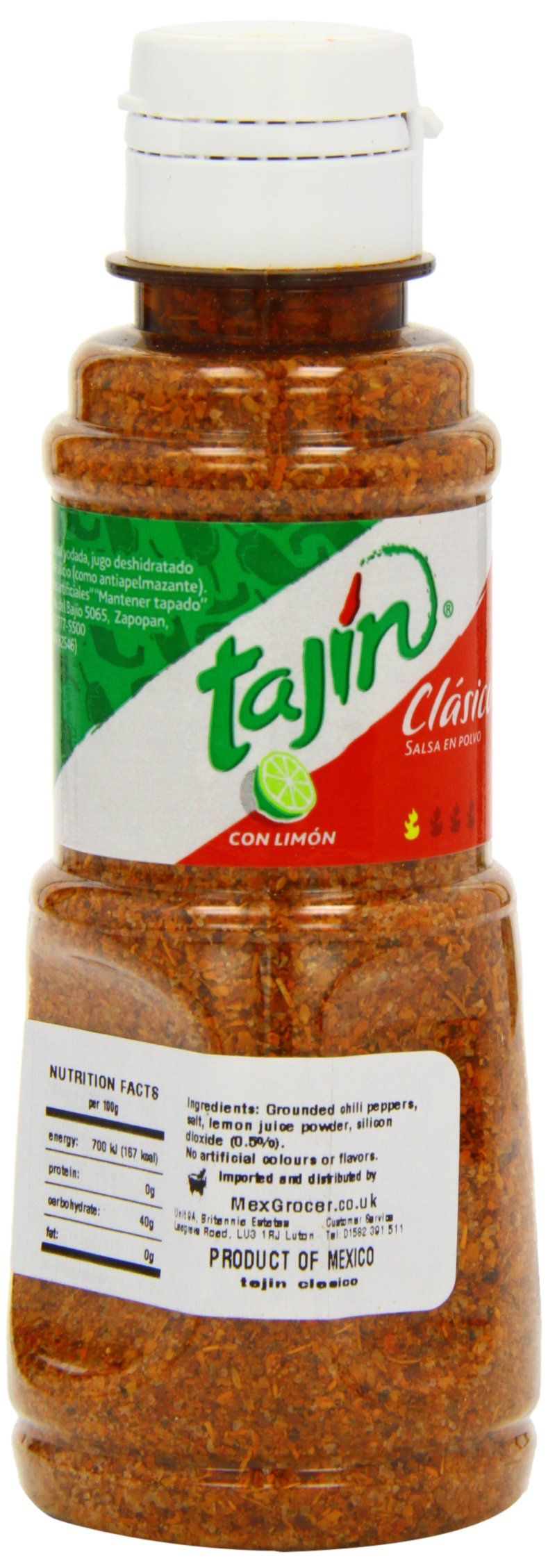 Tajin Clasico Seasoning with Lime, 5-Ounce (Pack of 8)