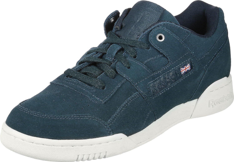 2da6f1098fb Reebok Workout Plus MCC Shoes deep sea Chalk  Amazon.co.uk  Shoes   Bags